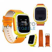 Смарт часы детские с трекером Q60 (розовый, синий, оранжевый), фото 2
