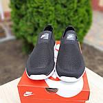 Мужские летние кроссовки Nike (черно-белые) 10154, фото 3