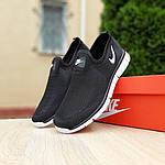 Чоловічі літні кросівки Nike (чорно-білі) 10154, фото 7