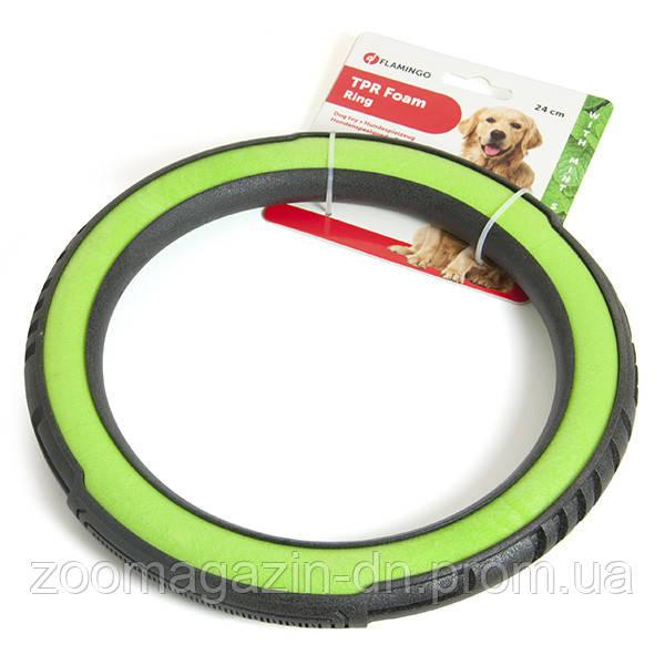 Karlie-Flamingo (КАРЛИ-ФЛАМИНГО) Foam Livia Ring кольцо игрушка для собак с мятой,  Д-24 см