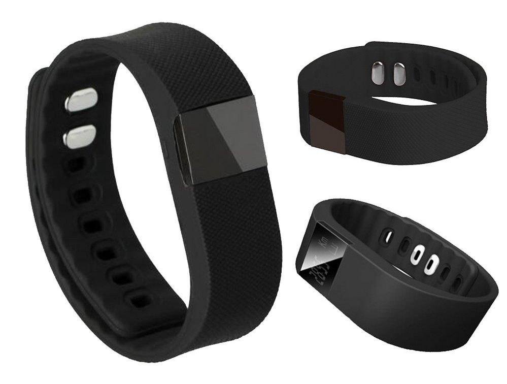 Фитнес браслет Smart Band Fitbit with LCD (TW64) черная