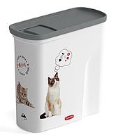 """CURVER® PET LIFE контейнер для корма """"Любимые котята"""" на 2 л"""