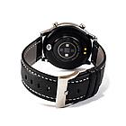 Розумні смарт годинник NO.1 DT78 Leather Band Silver-Black, фото 3