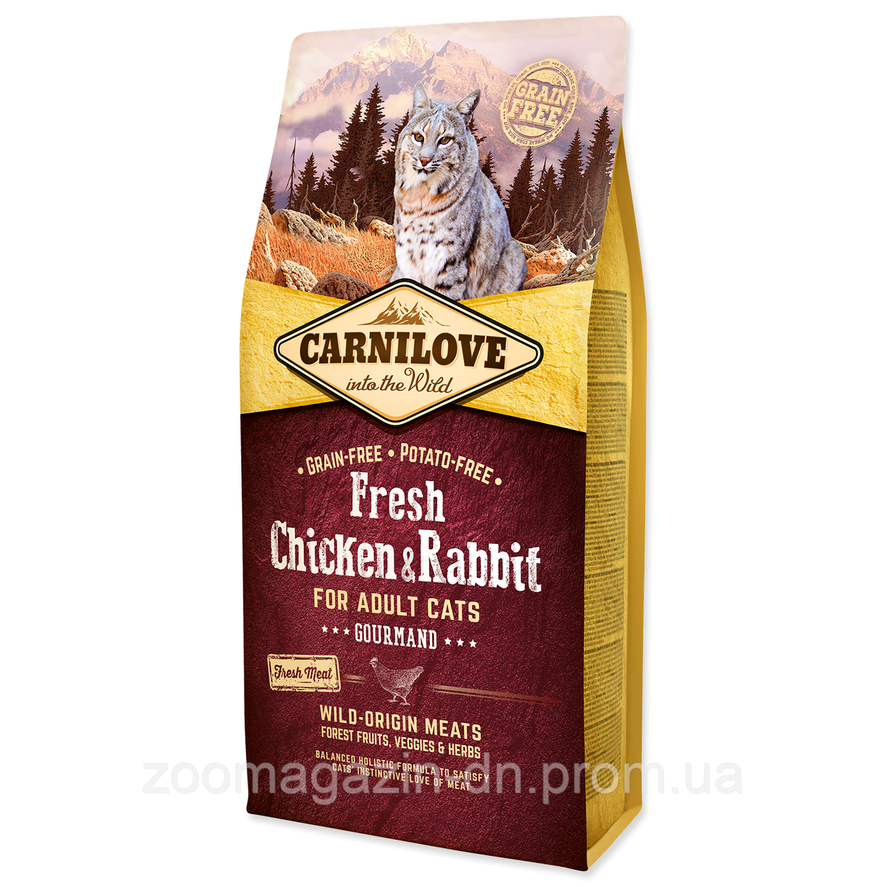 Carnilove Fresh Chicken & Rabbit for Adult cats 2 kg курица,кролик для котов