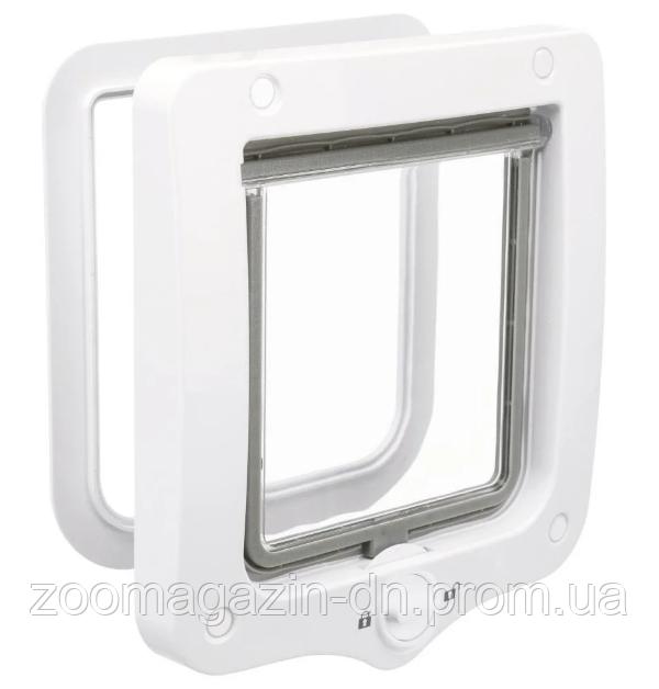 Дверца 2-Way Flap Door  TRIXIE для кошек и мелких собак, белая