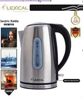 Электрочайник для дома нержавейка 1.7 л Lexical LEK-1402