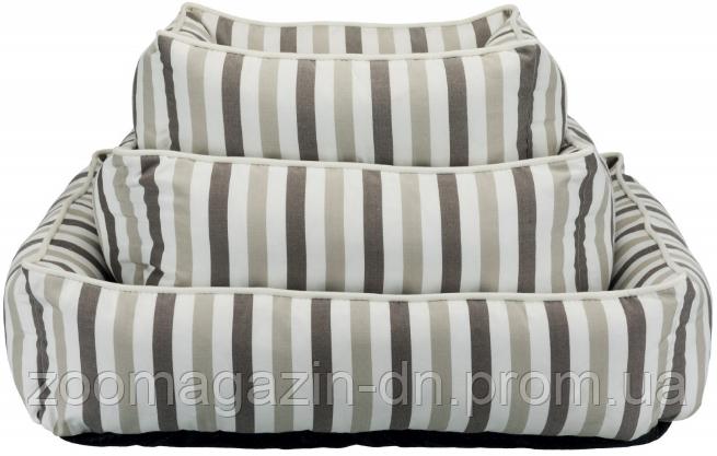 TRIXIE лежак Kimbo 80 × 65 см, белый / серо-коричнев