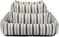 TRIXIE лежак Kimbo 80 × 65 см, белый / серо-коричнев, фото 1