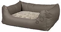 TRIXIE  лежак Drago Cosy  110 × 95 см,  серый / беж