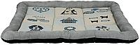 TRIXIE лежак Patchwork 75х60см, серый