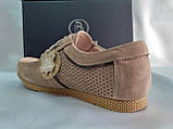Літні пісочний кеди,сліпони на шнурках Bertoni, фото 8