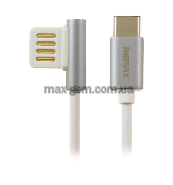 USB кабель Remax Emperor Type-C silver