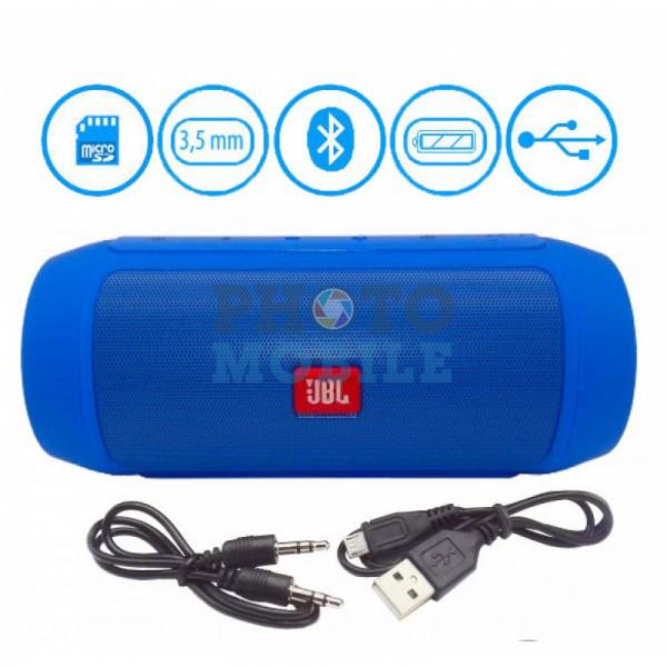 Портативная колонка Bluetooth JВL Charge 2+ (синяя)