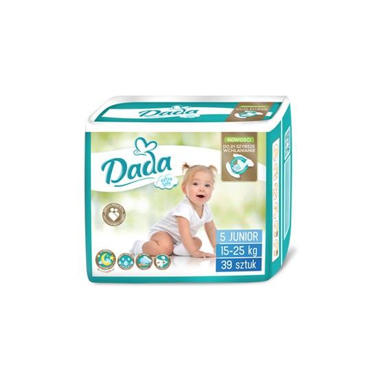 Підгузки Dada Extra Soft 5 (15-25кг), 39шт