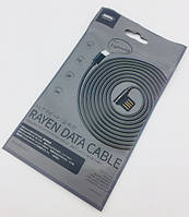 Дата кабель Remax RC-075i Rayen Cable iPhone 5 Black
