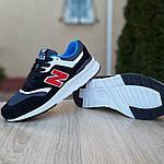 Мужские кроссовки New Balance 997 (черные) 1998, фото 2
