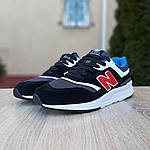 Мужские кроссовки New Balance 997 (черные) 1998, фото 3