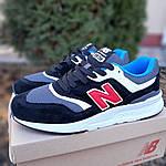Мужские кроссовки New Balance 997 (черные) 1998, фото 6