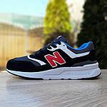 Мужские кроссовки New Balance 997 (черные) 1998, фото 8