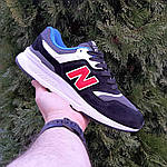 Мужские кроссовки New Balance 997 (черные) 1998, фото 9