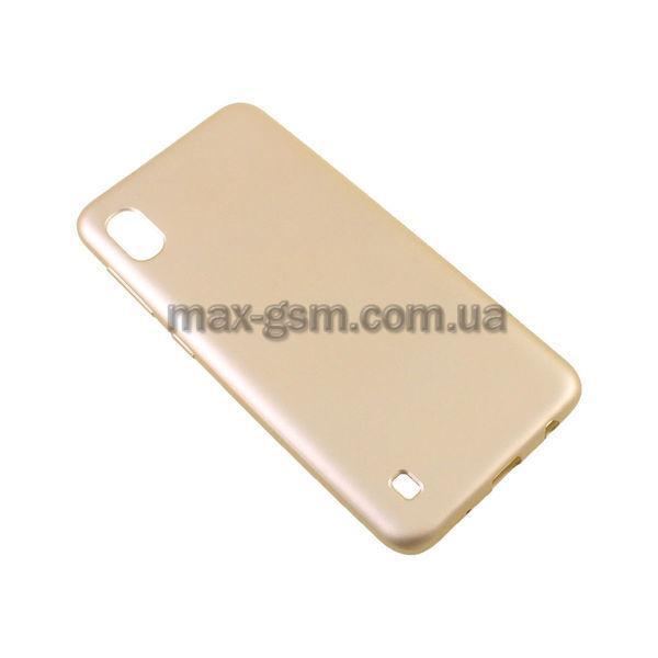 Накладка Rock Samsung A105 Galaxy A10 gold
