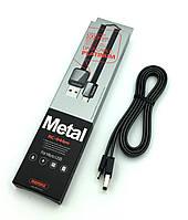 Дата кабель Remax RC-044i Platinum Lightning Black, фото 1