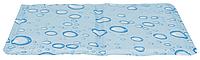 Подстилка охлаждающая TRIXIE, L: 65х50см,голубой
