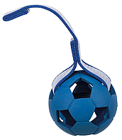 Мяч с шипами на ремне TRIXIE (резина)ø 7см/22см