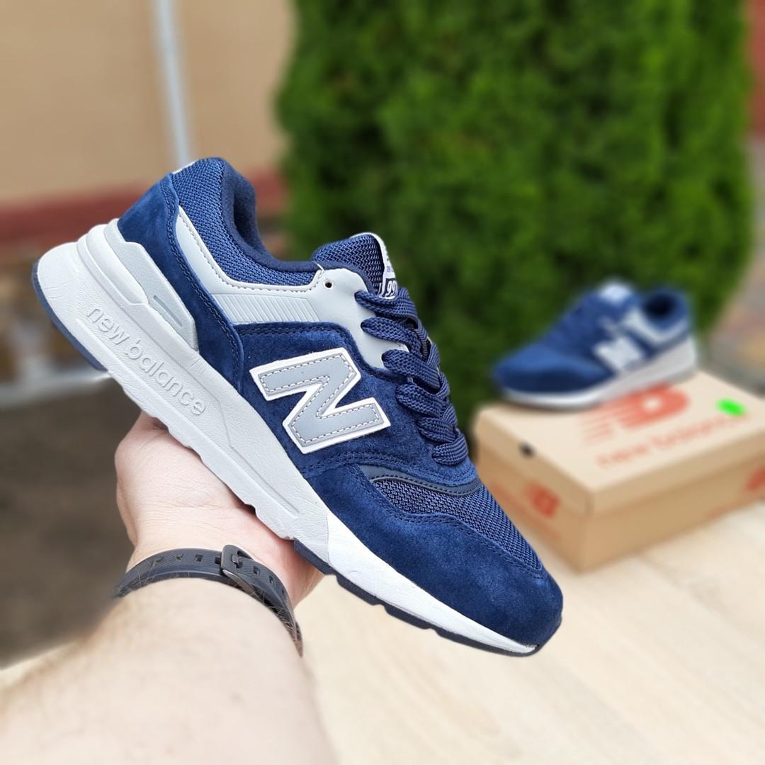 Мужские кроссовки New Balance 997 (синие) 10155