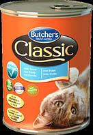 Butchers (Бутчерс) ClASSIC TROUT (ФОРЕЛЬ) консерва для кошек, 400 г