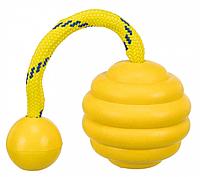 Мяч волнистый на канате TRIXIE (резина) ø 7 cм/22 cм
