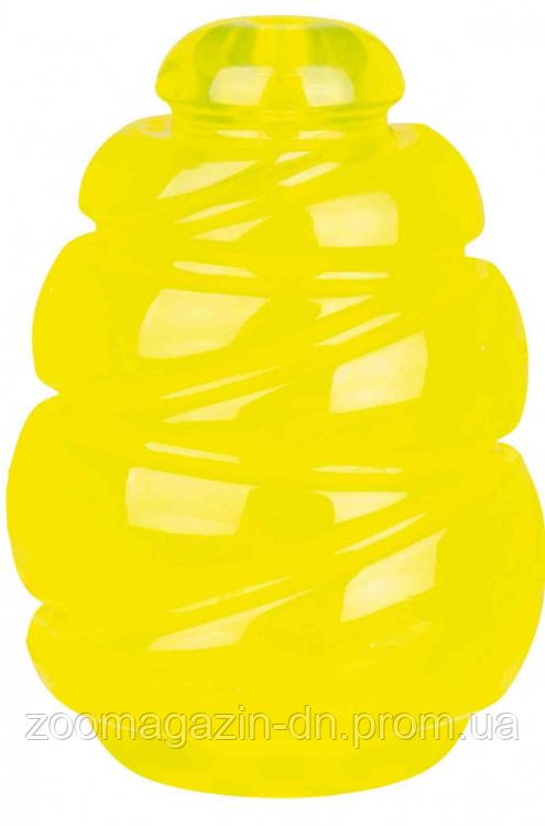 Прыгун сверхпрочный TRIXIE (резина)ø 11см, жёлтый