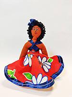 Кукла мулатка ручная работа Маврикий