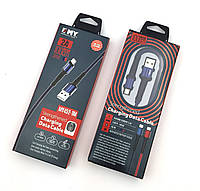Дата кабель EMY MY-452 Micro USB Blue
