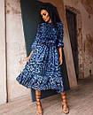 Нарядное платье миди с леопардовым принтом, фото 2