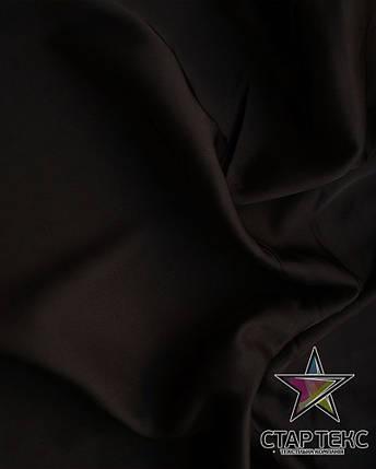 Шифон шовк Армані Чорний, фото 2