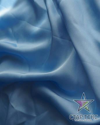 Шифон шовк Армані Блакитний, фото 2