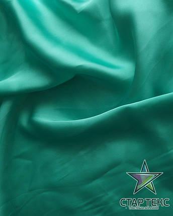 Шифон шовк Армані Зелена Мята, фото 2