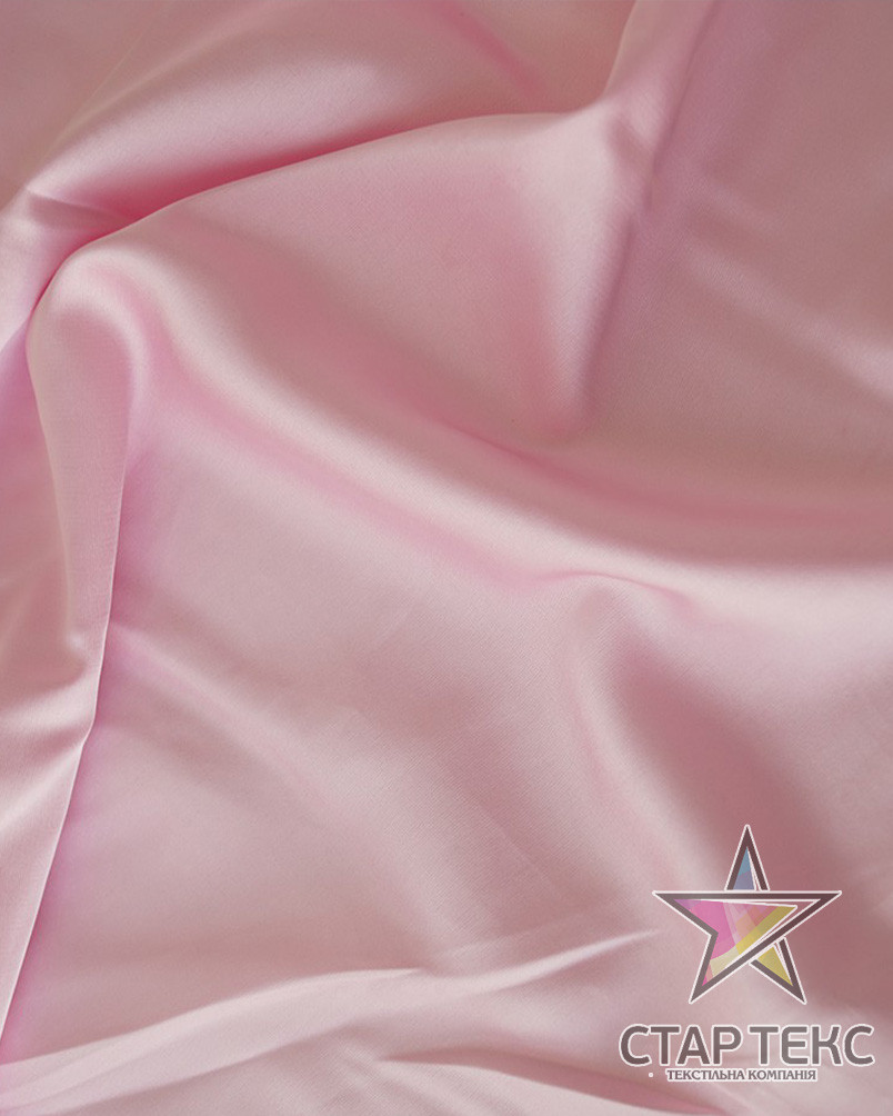 Шифон шовк Армані Світло рожевий