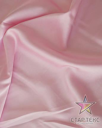 Шифон шовк Армані Світло рожевий, фото 2