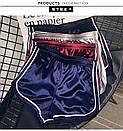 Женские атласные шорты с высокой талией, фото 2