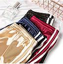 Женские атласные шорты с высокой талией, фото 4