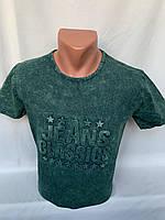 Футболка мужская варенка Regata, накатка стрейч коттон JEANS CLASSICS 001 \ купить футболку мужскую оптом