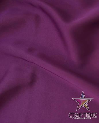 Шифон шовк Армані Фіолетовий, фото 2