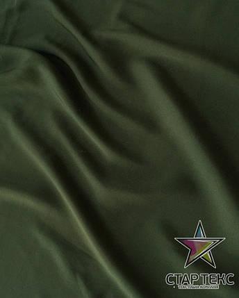 Шифон шовк Армані Хакі, фото 2