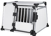 TRIXIE  транспортировочный бокс(алюминий) L-XL: 94×75×88 cм,серебро/светло-серый, фото 1