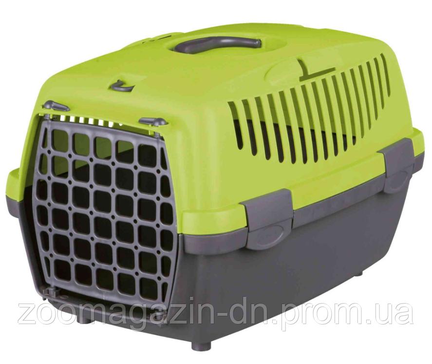 "Переноска для собак""Capri 2""(max.8кг)37х34х55см,темно-серый/серый"