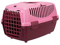"""Переноска для собак""""Capri  1"""" TRIXIE (max.6кг) 32 × 31 × 48см, ягодный/розовый"""