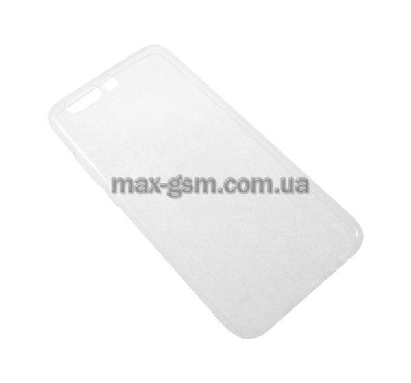 Накладка (силикон) SMTT Huawei P10 transparent