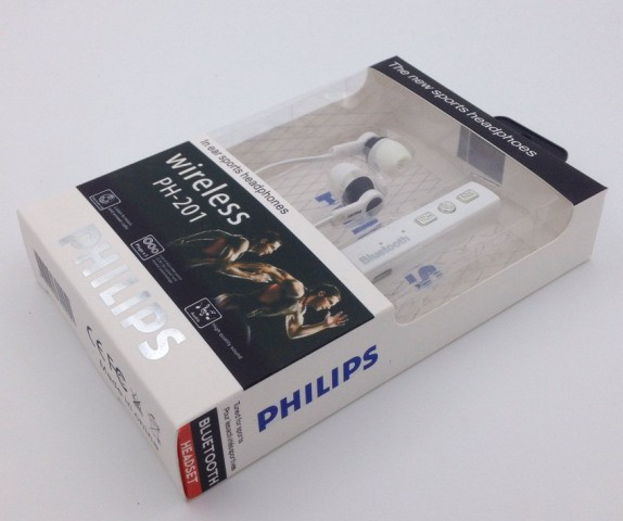 Наушники PHILIPS PH-201 Bluetooth White